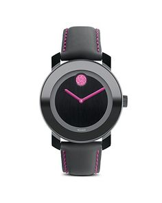 Movado BOLD Special Edition BCRF Watch, 36mm - Pink Boutique - Gifts - Bloomingdale's I have this watch, only without the pink!
