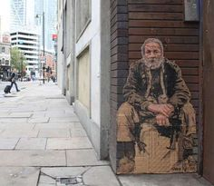 Poverty Focused Graffiti Street Art Homelessness Art Street Artists