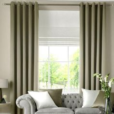 Curtain: outstanding curtains with blinds Curtains Over Blinds Ideas, Covering Vertical Blinds With Curtains, Blinds With Curtains Ideas ~ sarmdesk.com