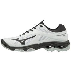 separation shoes 199b3 37a48 Mizuno Wave Lightning Z4 Women s White Black Volleyball Shoes