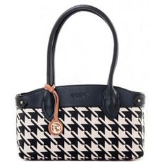 Alabama houndstooth for stylish Bama fans.Spartina 449 Stoddard East West Shoulder