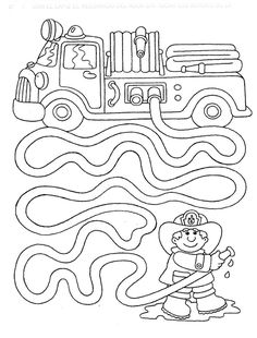 Mazes for kids printable preschool Preschool Writing, Preschool Learning, Kindergarten Worksheets, Learning Activities, Preschool Activities, Space Activities, Teaching, Community Helpers Worksheets, Community Helpers Preschool