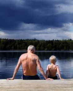 As men age, they are increasingly susceptible to environmental effects, such as radiation, which cause genetic mutations that can be passed onto their offspring