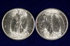 1947 Walking Liberty Half dollar - Brilliant Uncirculated