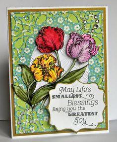 Nana's Memories & More: Power Poppy Tulips