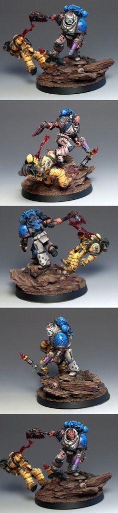 World Eater Kharn during the Siege of Terra