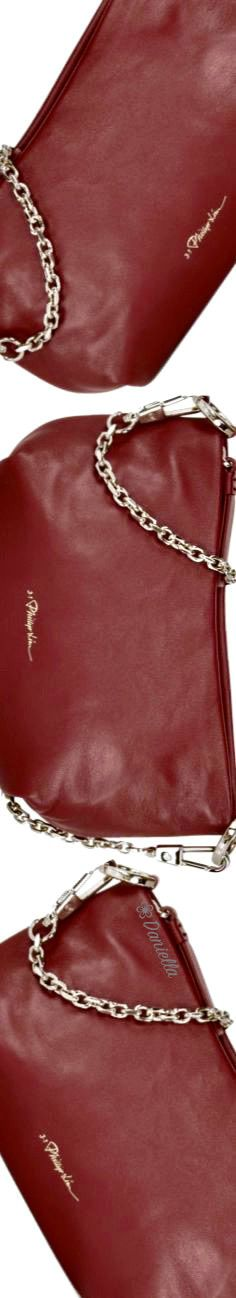 Phillip Lim Mini Croissant #Leather #ShoulderBag #PhillipLim Mini Croissants, Orange Leaf, Fall Is Here, Phillip Lim, Copper, Shoulder Bag, Wallet, Brown, Leather