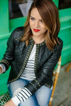 San Francisco Essentials: The Leather Jacket by Julia Engel   Fashion Indie