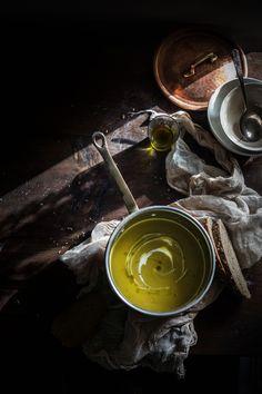 Sunchoke Saffron Creamy Soup | Hortus Natural Cooking