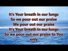 Great Are You Lord (All Sons and Daughters) Lyrics - YouTube