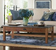 Channing Coffee Table #potterybarn