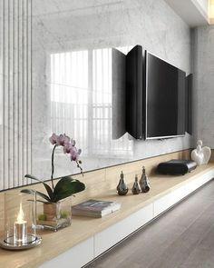 Moderno, resistente, prático e super sofisticado, o mármore veio para ficar de vez no nosso lar. Com sua textura única a pedra fica divina…