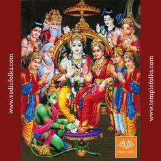 Rama Navami Rituals helps to remove past life bad karma and also helps to achieve good health. Shree Ram Images, Durga Images, Lakshmi Images, Krishna Hindu, Shri Hanuman, Hindu Deities, Yashoda Krishna, Shiva Tandav, Krishna Names