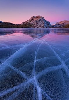 Tenaya Lake, Yosemite National Park. Why have I never seen this?
