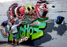 Busy in Bushwick! (Dabs & Myla, Matt Dobbs, Kems, Most & Flying Fortress, Never and Nychos)