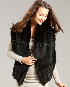 Shop FurHatWorld for the best selection of Mink Fur Scarves. Buy the Tessa Knitted Mink Pull Through Fringe Shawl in Black by FRR with fast same day shipping. Fur Cape, Fur Accessories, Sheer Beauty, Fringe Scarf, Collar And Cuff, Neck Warmer, Mink, Shawl, Style Inspiration
