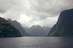 Doubtful Sound, New Zealand. One day we headed up the fiord towards the open sea. A heavy mist came down and there was an an unbelievable silence. Visibility was down to just a few yards. One of the scariest days of my life! Especially knowing that many species of Whale frequent this place.