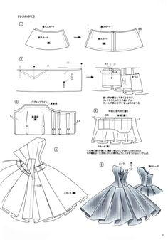 Cocktail dress pattern