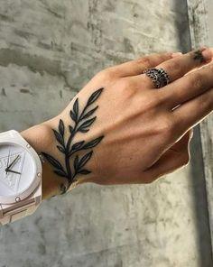 More than 40 amazing wrist tattoo designs for women – Page 33 – Kornelia Now. - tattoos - Tattoo Designs For Women Unalome Tattoo, Shape Tattoo, Tattoo Henna, Get A Tattoo, Tattoo Arm, Band Tattoo, Tattoo Flash, Trendy Tattoos, Love Tattoos