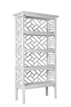 Chinese Chippendale Etagere - Two Colors - David Francis Furniture - $2,210.00 - domino.com