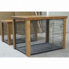 Image result for DIY Wooden Dog Crate Cover