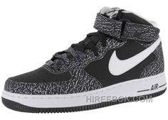 pretty nice 2d44d 939aa Nike Air Force 1 Mid BlackWhite Sports Shoes Free Shipping, Price 54.71  - Reebok Shoes,Reebok Classic,Reebok Mens Shoes