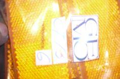 Lens reflectari orange #GEMO CT-3 $1