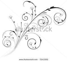 Abstract Swirl Tattoo | Swirl Design Ornament Tattoo Pictures to Pin on Pinterest