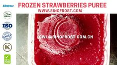 Sinofrost - Frozen Strawberry Puree Without Seeds Supplier -Frozen Strawberries Puree Without Seeds Strawberry Puree, Frozen Strawberries, Grapefruit, Seeds, Food, Eten, Meals, Freezing Strawberries, Diet
