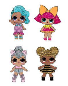 LOL Doll Printed Self Adhesive Vinyl Sticker DecalsL Surprise dolls so I decided to create free birthday party printables for all the other girls (and boys) .Bay Vayachack's media statistics and analyticsL surprise doll images so I decided to create 6th Birthday Parties, Girl Birthday, Free Birthday, Best Birthday Surprises, Surprise Birthday, Lol Doll Cake, Chibi Kawaii, Mickey Mouse, Doll Party