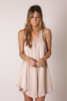 simple and sweet. great with a bright pair of heels