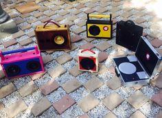 Wooden Boom Box by Tshepo Sedumo