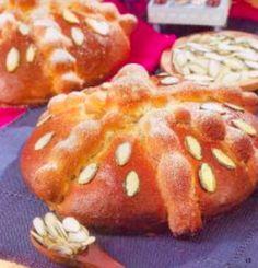 Pan de muerto de calabaza