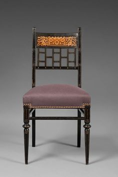Herter Brothers Chair Designed for James Goodwin ca. 1874