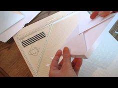 Make your own envelopes with the Martha Stewart Scoreboard...