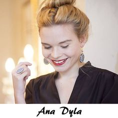 Meet our first designer Ana Dyla they use the 'natural beauty' of the gemstones