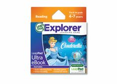 And even it out a little... LeapPad1/LeapPad2™ Ultra eBook Cartridge: Disney Cinderella