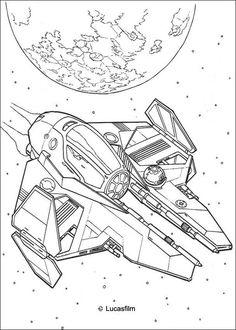 Star Wars coloring pages 9 / Star Wars / Kids printables coloring ...