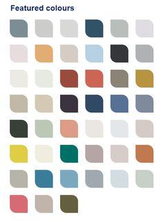 Dulux 2017 Color Palette