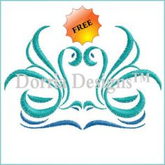 Creative free machine embroidery design 277