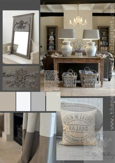 The Paper Mulberry French Champagne decor | pinned by wietzie lieze gerber