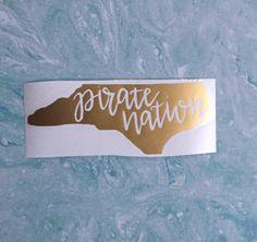 NC Sticker NC Decal North Carolina Sticker North Carolina Decal - Custom vinyl decals raleigh