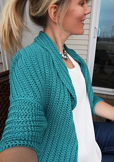 Chloe Crochet Jacket - perfect for Spring!