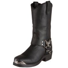 Dingo Men's Chopper Boot,Black,8 D US - http://authenticboots.com/dingo-mens-chopper-bootblack8-d-us/