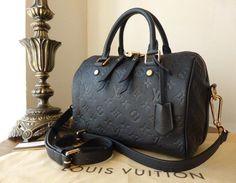 Louis Vuitton Speedy Bandoulière 25 in Monogram Empreinte Inifini  gt   http   www 779a5a3d49647