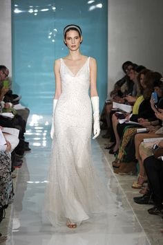 More Reem Acra. Forget the gloves and i LOVE LOVE this.