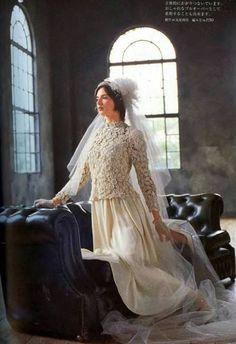 Ierse haak &: 2 Haak trouwjurken ... jurk 2