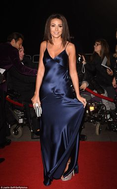 Family goals: Carol Wright can't wait for Michelle Keegan to start a family with her son Mark, with the TOWIE star joking she could be a grandmother in the near future Silk Satin Dress, Satin Dresses, Gowns, Night Dress For Women, Elegant Dresses For Women, Satin Panty Pics, Silk Evening Gown, Non Blondes, Classy Women
