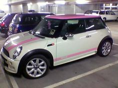 I like these cars! But this pink one I love!