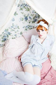 $190, really cute pajamas from Lena Hoschek.